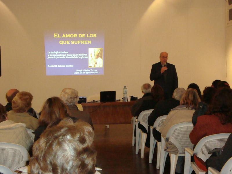 """Disertación: """"El amor de los que sufren"""" - Padre Abel H. Iglesias Cortina"""